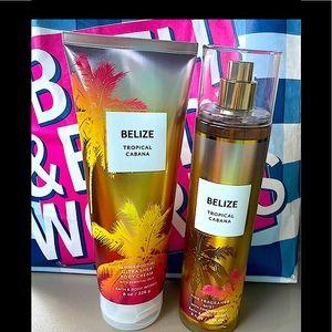 "🌸NWT Bath and Body Works ""BELIZE"" Bundle 🌸"